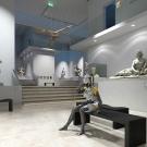3D - interieur im museum