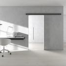 3D - interieur mit Klarglas Türen