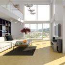 3D - interieur mit galerie