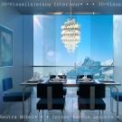 05 neutra-esszimmer-hahn-media 3 D Visualisierung