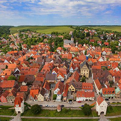 Werbefotografe LuftaufnahmenHahn Media Würzburg